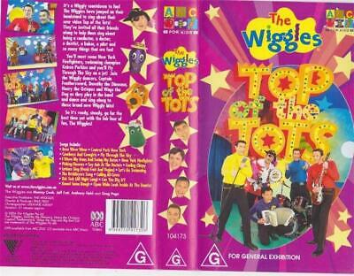 The Wiggles Top Of The Tots   Vhs Video Pal~ A Rare Find