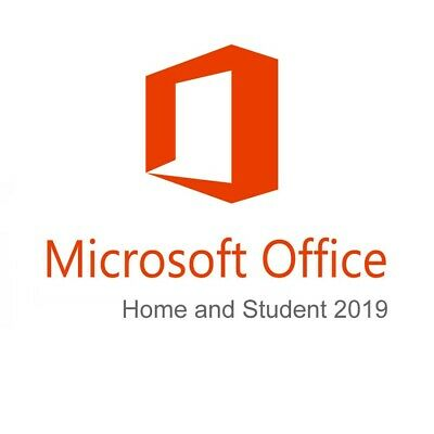 Microsoft Office 2019 Home and Student - Brand NEW- Windows - GENUINE