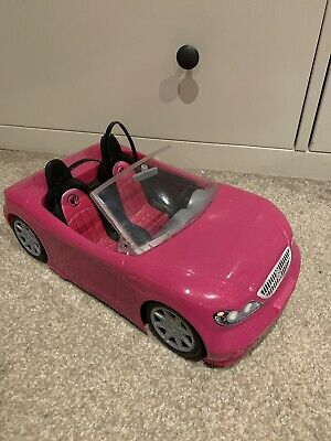 Barbie Glam Convertible Car & Doll Playset From Mattel - Last 1 Left