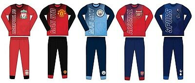 Boys Kids Official Premier League Football Pyjamas 2019-20 Many Club PJs