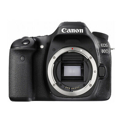 Canon EOS 80D 24.2MP DSLR Camera Body Only Black - UK STOCK - FREE UK DELIVERY