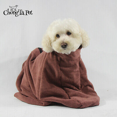 Microfibre Dog Towel Bag Quick Drying Dog Bags To Keep Doggy Warm & Dry Bathrobe