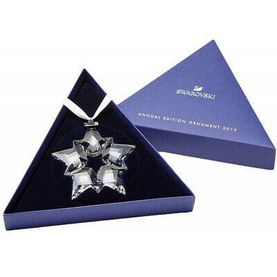 2019 Swarovski Crystal Snowflake Christmas Star Annual EditionOrnament 5427990