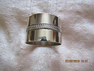 Christofle Silver Plated Single Napkin Ring