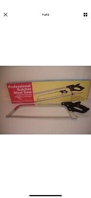 """21"""" Butchers saw, meat, fish, bone, deer saw top quality stainless steel"""