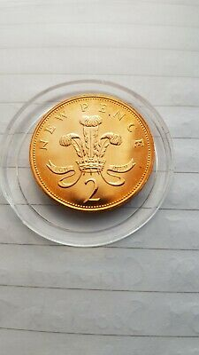 Mega Rare 1972  2p Two penny Proof Coin. Not released.