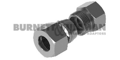Burnett & Hillman METRIC Blanking End (S Series) COMPLETE – Compression Fitting