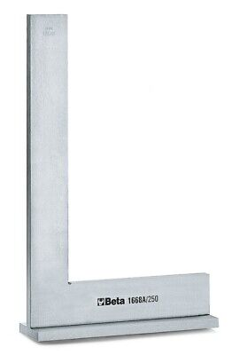 Beta Tools 1668A Flanged Normalised Ground Steel Precision Square 200x 130mm