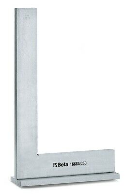 Beta Tools 1668A Flanged Normalised Ground Steel Precision Square 250x 165mm