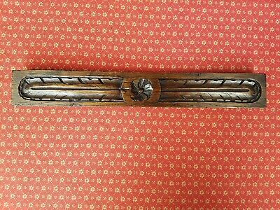Large Antique French Carved Oak Embellishment  C1900