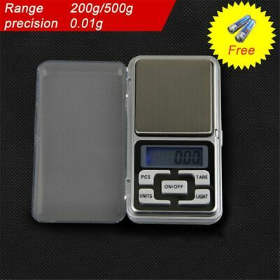 Pocket High Precision Gram Jewelry Weighing Digital Scale LCD Display