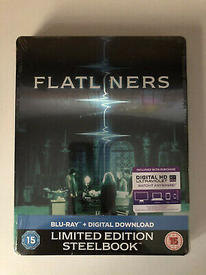 Flatliners Limited Edition Blu Ray Steelbook New & Sealed