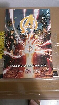 Fumetto  AVENGERS VOL.2: L'ULTIMO EVENTO BIANCO (Marvel Now Collection) HICKMAN