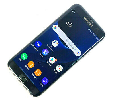 Samsung Galaxy S7 edge SM-G935F 32GB Black (Unlocked) AVERAGE, GRADE C 749