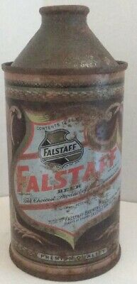 Vintage FALSTAFF IRTP Cone Top Beer Can Falstaff Brewing Co St. Louis, MO