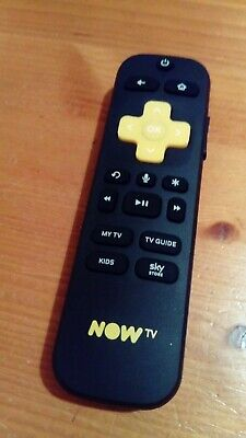 Genuine Original Now TV Smart Stick Remote Control wifi voice search nowtv
