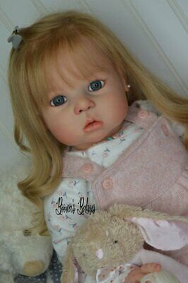 CUSTOM ORDER! Reborn Doll Baby Girl Toddler Vanessa by Regina Swialkowski