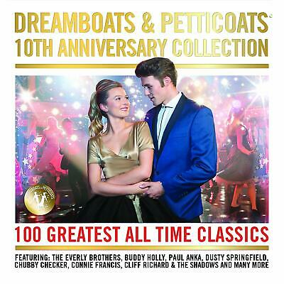 Dreamboats & Petticoats 10th Anniversary Collection CD 100 Tracks Box Set