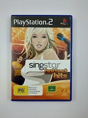 Singstar PS2 Playstation 2 Ultimate Selection Includes manual