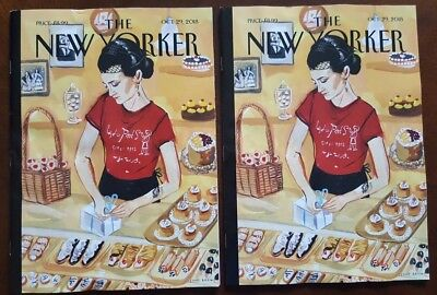 "THE NEW YORKER Magazine - October 29, 2018 - """"Arthur Avenue,"" by Jenny Kroik"