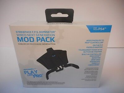 PS4 Collective Minds Strike Pack F.P.S. Dominator Controller Adapter with MODS!