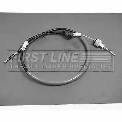 Clutch Cable FKC1412 by First Line Genuine OE - Single