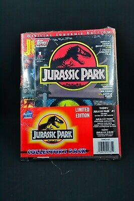 Topps Comics Jurassic Park #1 Of4 Collector's Pack