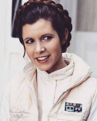 8x10 Carrie Fisher Princess Leia GLOSSY PHOTO photograph picture star wars #3