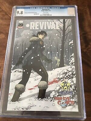 CGC 9.8 NM+ Modern Key Revival #1 Variant Third Eye / Awesome Comics 2012 Image