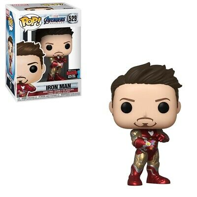 Avengers Endgame Iron Man With Gauntlet #529 NYCC Shared Exclusive Funko Pop