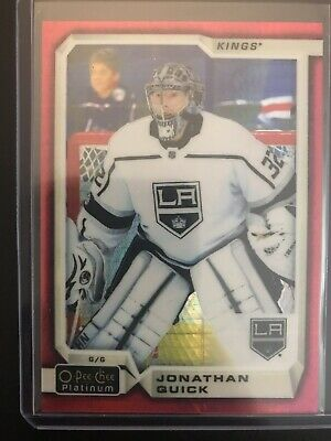 2018-19 OPC Platinum Red Prism /198 Jonathan Quick Kings 25
