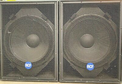 "2 x RCF 4PRO SERIES 8001AS 18"" Active Subwoofers"
