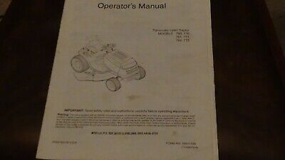 2004 Briggs Stratton, 210000, 280000, 310000 Engine Operating & Maintenance Book
