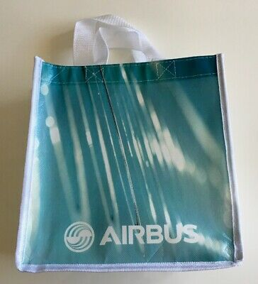 Airbus shopping / carry bag, white with corporate print on both sides