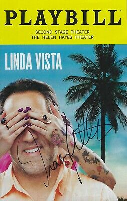 Linda Vista Playbill September 2019 Signed Autographed by Tracy Letts Broadway