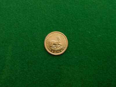 1952 South Africa Gold 1/2 Pound Coin George VI Same Weight/Finess As 1/2 Sov