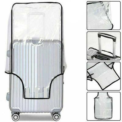 Transparent Suitcase Travel PVC Luggage Waterproof Dust-Proof Protect Cover Case