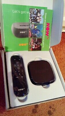 NOW TV Box 4200sk HD Media Streamer nowtv wifi netflix cinema kids sports bbci