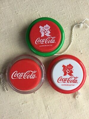 Coca Cola Yo Yo's lot of 3