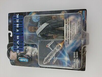 Star Trek LT. Commander Worf first contact 1996 Sci-fi  collectable