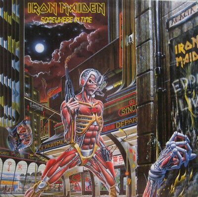 Iron Maiden ‎– Somewhere In Time Vinyl LP Parlophone ‎2014 NEW/SEALED