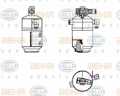 Air Conditioning dehumidifier 8FT351195-181 by Hella - Single