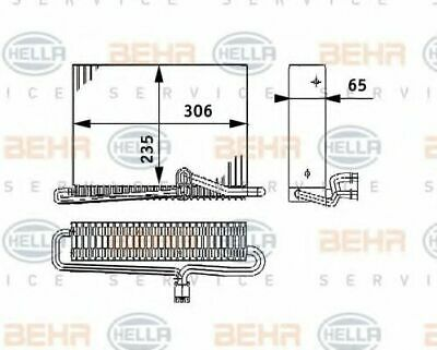 Air Conditioning 8FV351330-121 by Hella - Single