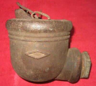ANTIQUE A.Y. McDONALD DUBUQUE IOWA CAST IRON WATER PUMP #82-43 DIVERTER CUP