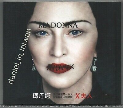 Madonna: Madame X (2019) TAIWAN CD w/ SLIPCOVER SEALED