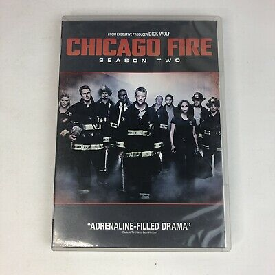 Chicago Fire: Complete Second Season 2 Two (DVD, 2014, 5-Disc Set) Tested Drama