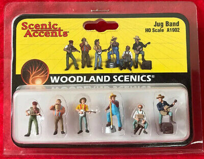 Woodland Scenics A2570 G-Scale Junior/'s Jug Band Sculpted Painted Figures 3