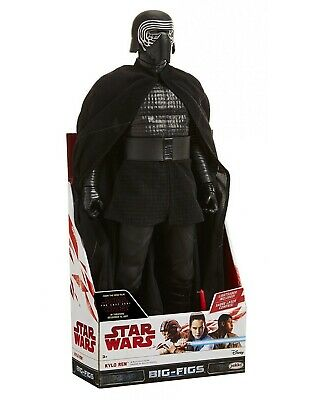 "Star Wars: The Last Jedi Kylo Ren Action Figure 18"" NIB W/lightsaber Collectible"