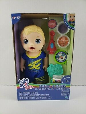 "Baby Alive ""Super Snacks"" - Blonde Hair Boy Doll"
