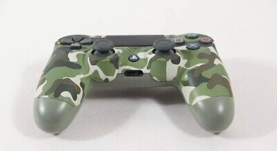 Sony Dualshock wireless controler for PlayStation 4 ,PS4 Blue camouflage
